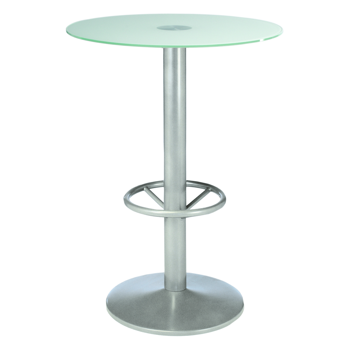 table snack feroe verre blanc opaque 80 internation moduling. Black Bedroom Furniture Sets. Home Design Ideas